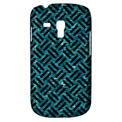Woven2 Black Marble & Blue Green Water (r) Samsung Galaxy S3 Mini I8190 Hardshell Case by trendistuff