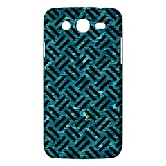 Woven2 Black Marble & Blue Green Water (r) Samsung Galaxy Mega 5 8 I9152 Hardshell Case  by trendistuff