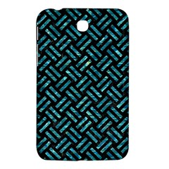 Woven2 Black Marble & Blue Green Water Samsung Galaxy Tab 3 (7 ) P3200 Hardshell Case  by trendistuff