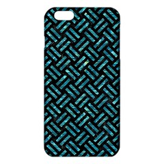 Woven2 Black Marble & Blue Green Water Iphone 6 Plus/6s Plus Tpu Case by trendistuff
