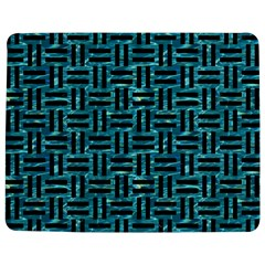 Woven1 Black Marble & Blue Green Water (r) Jigsaw Puzzle Photo Stand (rectangular) by trendistuff
