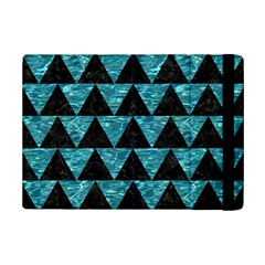 Triangle2 Black Marble & Blue Green Water Apple Ipad Mini 2 Flip Case by trendistuff