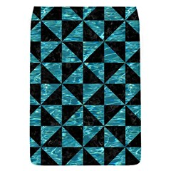 Triangle1 Black Marble & Blue Green Water Removable Flap Cover (s) by trendistuff
