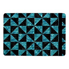 Triangle1 Black Marble & Blue Green Water Samsung Galaxy Tab Pro 10 1  Flip Case