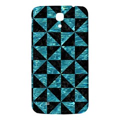 Triangle1 Black Marble & Blue Green Water Samsung Galaxy Mega I9200 Hardshell Back Case