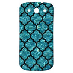 Tile1 Black Marble & Blue Green Water (r) Samsung Galaxy S3 S Iii Classic Hardshell Back Case by trendistuff