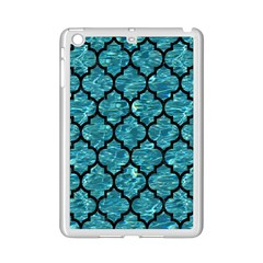 Tile1 Black Marble & Blue Green Water (r) Apple Ipad Mini 2 Case (white) by trendistuff