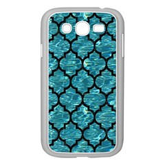 Tile1 Black Marble & Blue Green Water (r) Samsung Galaxy Grand Duos I9082 Case (white) by trendistuff