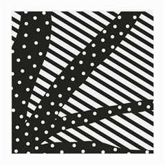 Ambiguous Stripes Line Polka Dots Black Medium Glasses Cloth by Mariart
