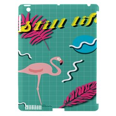 Behance Feelings Beauty Flamingo Bird Still Life Leaf Green Pink Red Apple Ipad 3/4 Hardshell Case (compatible With Smart Cover) by Mariart