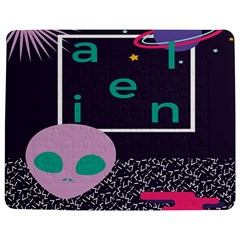 Behance Feelings Beauty Space Alien Star Galaxy Jigsaw Puzzle Photo Stand (rectangular) by Mariart