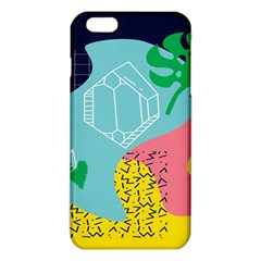 Behance Feelings Beauty Waves Blue Yellow Pink Green Leaf Iphone 6 Plus/6s Plus Tpu Case by Mariart