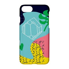 Behance Feelings Beauty Waves Blue Yellow Pink Green Leaf Apple Iphone 7 Hardshell Case by Mariart