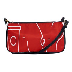 Caffeine And Breastfeeding Coffee Nursing Red Sign Shoulder Clutch Bags