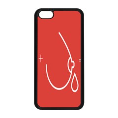 Caffeine And Breastfeeding Coffee Nursing Red Sign Apple Iphone 5c Seamless Case (black) by Mariart