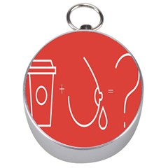Caffeine And Breastfeeding Coffee Nursing Red Sign Silver Compasses by Mariart