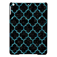 Tile1 Black Marble & Blue Green Water Apple Ipad Air Hardshell Case by trendistuff