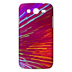 Zoom Colour Motion Blurred Zoom Background With Ray Of Light Hurtling Towards The Viewer Samsung Galaxy Mega 5 8 I9152 Hardshell Case  by Mariart
