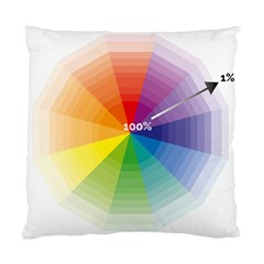 Colour Value Diagram Circle Round Standard Cushion Case (two Sides) by Mariart