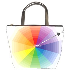 Colour Value Diagram Circle Round Bucket Bags by Mariart
