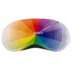 Colour Value Diagram Circle Round Sleeping Masks