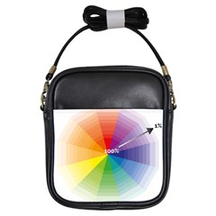 Colour Value Diagram Circle Round Girls Sling Bags by Mariart
