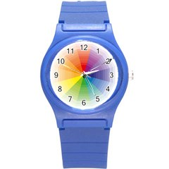 Colour Value Diagram Circle Round Round Plastic Sport Watch (s) by Mariart