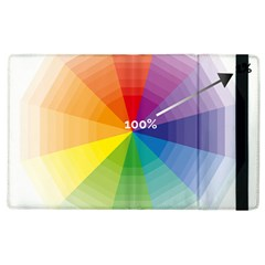 Colour Value Diagram Circle Round Apple Ipad 2 Flip Case by Mariart