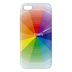 Colour Value Diagram Circle Round Apple Iphone 5 Premium Hardshell Case by Mariart