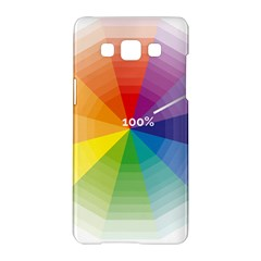 Colour Value Diagram Circle Round Samsung Galaxy A5 Hardshell Case  by Mariart