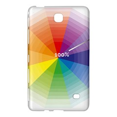Colour Value Diagram Circle Round Samsung Galaxy Tab 4 (7 ) Hardshell Case  by Mariart
