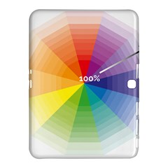 Colour Value Diagram Circle Round Samsung Galaxy Tab 4 (10 1 ) Hardshell Case  by Mariart
