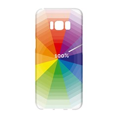 Colour Value Diagram Circle Round Samsung Galaxy S8 Hardshell Case  by Mariart