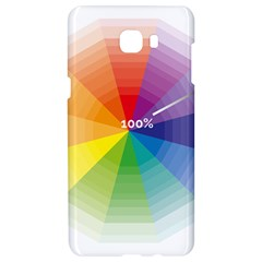 Colour Value Diagram Circle Round Samsung C9 Pro Hardshell Case  by Mariart