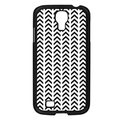 Chevron Triangle Black Samsung Galaxy S4 I9500/ I9505 Case (black) by Mariart