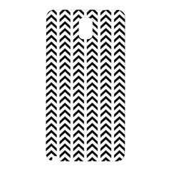 Chevron Triangle Black Samsung Galaxy Note 3 N9005 Hardshell Back Case by Mariart