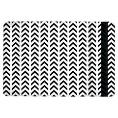Chevron Triangle Black Ipad Air Flip by Mariart