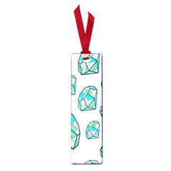 Brilliant Diamond Green Blue White Small Book Marks by Mariart