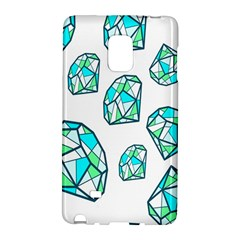 Brilliant Diamond Green Blue White Galaxy Note Edge by Mariart