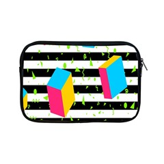 Cube Line Polka Dots Horizontal Triangle Pink Yellow Blue Green Black Flag Apple Ipad Mini Zipper Cases by Mariart