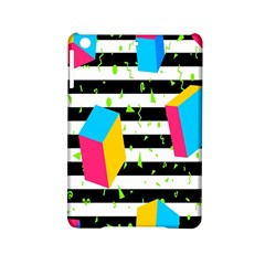 Cube Line Polka Dots Horizontal Triangle Pink Yellow Blue Green Black Flag Ipad Mini 2 Hardshell Cases by Mariart