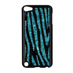 Skin4 Black Marble & Blue Green Water (r) Apple Ipod Touch 5 Case (black) by trendistuff