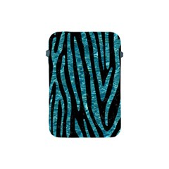 Skin4 Black Marble & Blue Green Water (r) Apple Ipad Mini Protective Soft Case by trendistuff