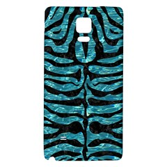 Skin2 Black Marble & Blue Green Water (r) Samsung Note 4 Hardshell Back Case by trendistuff