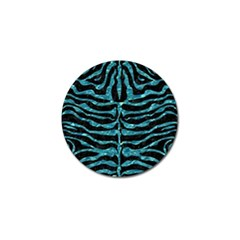 Skin2 Black Marble & Blue Green Water Golf Ball Marker (4 Pack) by trendistuff