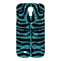 Skin2 Black Marble & Blue Green Water Samsung Galaxy S4 I9500/i9505 Hardshell Case by trendistuff