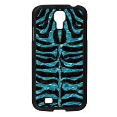 Skin2 Black Marble & Blue Green Water Samsung Galaxy S4 I9500/ I9505 Case (black) by trendistuff