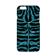 Skin2 Black Marble & Blue Green Water Apple Iphone 6/6s Hardshell Case by trendistuff