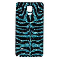 Skin2 Black Marble & Blue Green Water Samsung Note 4 Hardshell Back Case by trendistuff
