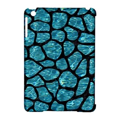 Skin1 Black Marble & Blue Green Water Apple Ipad Mini Hardshell Case (compatible With Smart Cover) by trendistuff